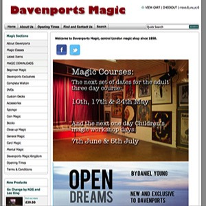 davenports magic